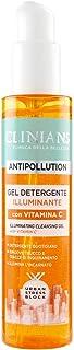 CLINIANS ANTIPOLLUTION gel limpiador iluminador para todos los tipos de piel con Vitamina C 150 mL
