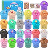 Super Mini Butter Slime Kit 25 Pack,Scented Slime for Girls and Boys,Party Favor...