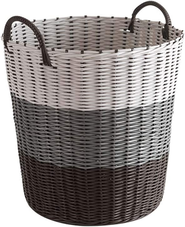 QTQHOME Storage Basket Laundry Super sale Large 42 x cm Charlotte Mall 32 Pla Woven