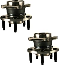 HU512335 x2 Brand New Rear Set Wheel Bearing Hub Assembly Fit 07-10 MKX Edge Rear Left and Right (AWD)