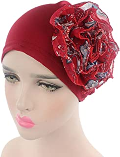 beauty YFJH Women's Flower Chemo Beanie Hat Turban Head Wrap Cap for Cancer Patient