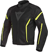 Dainese Air Crono 2 Textile Jacket (54) (Black/Black/Fluorescent Yellow)