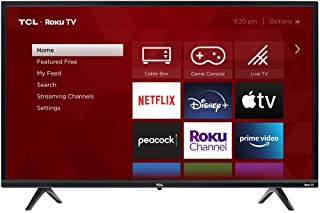 TCL 32-inch 3-Series 720p Roku Smart TV - 32S335, 2021 Model