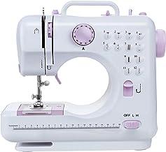 PAKASEPT N/ähmaschine Mini Tragbar Sewing Machine Haushaltsn/ähmaschine mit Verl/ängerungstisch Fu/ßpedalleuchte Sicherheitsabdeckung