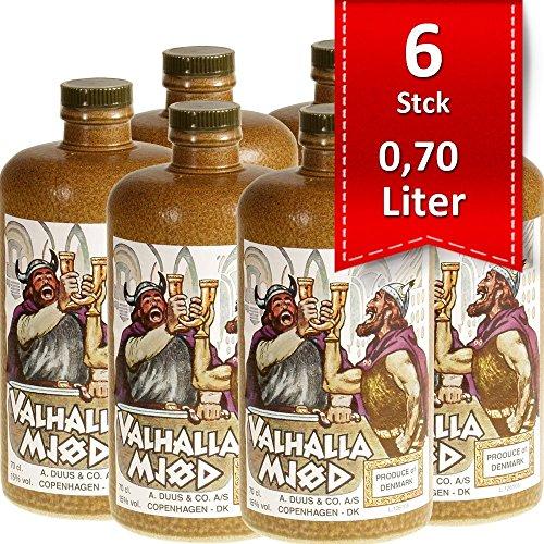 Valhalla Mjöd Mjød Im Steinkrug (6 X 0.7 L)