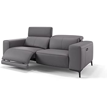 Ledersofa Relaxsofa Heimkino Sofa Funktionssofa Sofa Couch Tv Sessel Amazon De Kuche Haushalt