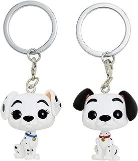 Funko Disney 101 Dalmatians Pocket Pop! Pongo & Perdita Vinyl Key Chain Set