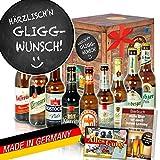 Härrzlisch'n Gliggwunsch ++ Geschenk Spruch lustig ++ DDR Produkte Bier