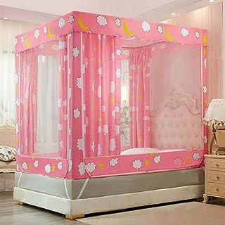 Tipi tält vuxna myggnät säng Baldakin, för storlek säng, finaste hål, Baldachin, insektsskydd, 3 ingångar, (olk, 120 x 200...