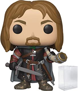 Funko Pop! Movies: The Lord of The Rings - Boromir Vinyl Figure (Includes Pop Box Protector Case)