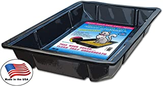 Kitty Lounge Disposable Litter Tray, Black, Argee RG606