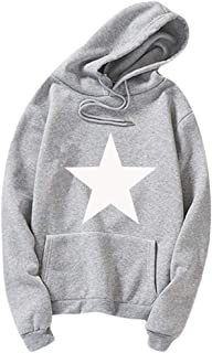 Mens Long Sleeved Hooded Outwear with Big Pocket Splicing Sweatshirt Hoodie Solid Colour Patchwork Tops Casual Student Hip...