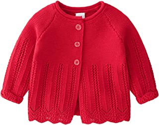 Vivobiniya Baby Girl Cardigan Toddler Girl Knit Sweater Girl Winter Clothes