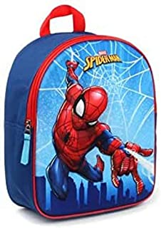 Spider-Man Mochila Infantil, 31 cm, 9 Liters, Azul (Blue)