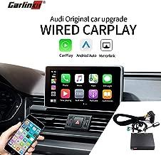 Carlinkit Wired CarPlay Android Auto Box for Audi A4 A5 Q5 C6 Q7 3G/3G+MMI muItimedia Interface Retrofit Kit