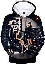 eleganceoo Fashion 3D Print Hoodies Casual Sweatshirt Long Sleeve Personality Casual Spring/Autumn White Sweatshirts
