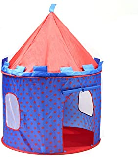 SueSport SUSBT4053R Boy's Prince Castle, Children Play Tent, Blue