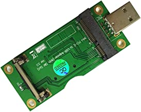 OLEY Adapter Mini PCI-E PCI Express to USB Interface with SIM Card Slot (180 Degree)