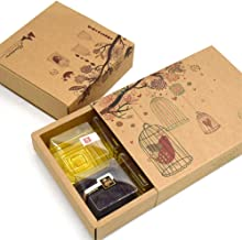 Mooncake Craft Paper Boxes Chinese Traditional Gift Packaging 10 Bottoms+10 Covers 9.3 6.41.9 Inch For 6 Moon Cake