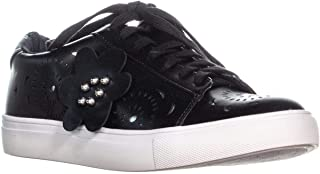 Nanette Lepore Wesley Lace Up Sneakers, Black