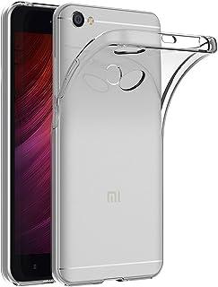 Case for Xiaomi Redmi Note 5A / Redmi Note5A Prime (5.5 inch) MaiJin Soft TPU Rubber Gel Bumper Transparent Back Cover