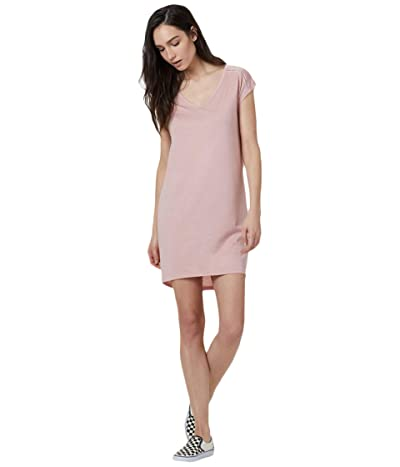 tentree Waldron Dress (Quartz Pink Heather) Women