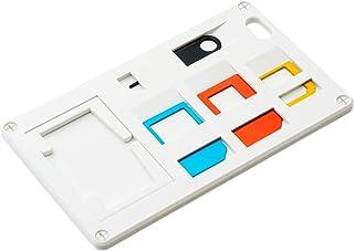ミヨシ SIM変換アダプター付きカードホルダー ホワイト SCM-SI01/WH