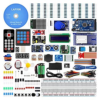 LAFVIN Mega 2560 Project Starter Kit for Mega328 Nano with Tutorial Compatible with Arduino IDE