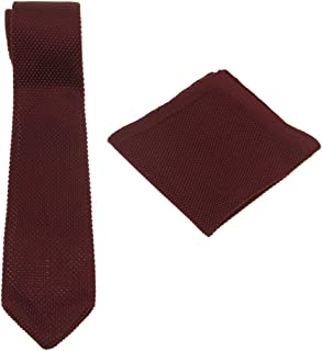 Best burgundy tie and pocket square Reviews
