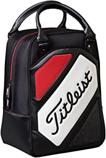 New Titleist Golf Shag Bag Black Red White Practice Ball Bag