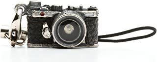 Japan Hobby Tool ミニチュアカメラストラップ レンジファインダータイプ クラシックシルバー JHT9547-CS