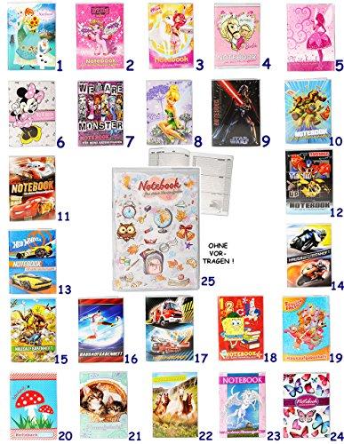 alles-meine.de GmbH Schulplaner / Hausaufgabenheft -  Disney Tinkerbell / Fairy  - ohne Vortragen der Stunden ! - für Faule - Schule - incl. Schutzhülle & bunten Seiten - für M..