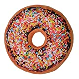 Large Doughnut Throw Pillow Soft Novelty Doughnut Shaped Ring Plush Cushion Pillow 40cm