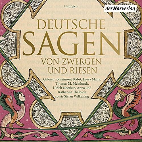 Deutsche Sagen von Zwergen und Riesen Titelbild
