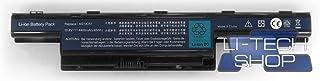 LI-TECH - Batería Compatible para Ordenador portátil Acer Travelmate TM-5335-T352G32MNSS (48 WH)