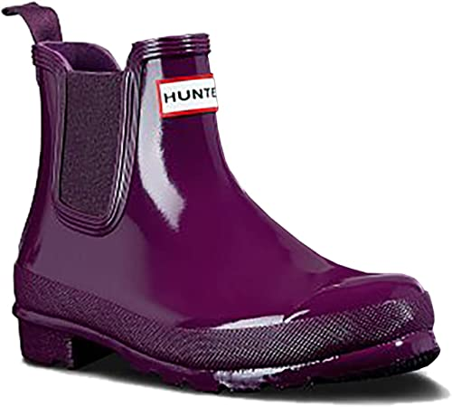 Hunter damen Original Chelsea Gloss One Tab, Stiefel de Agua para damen