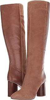 brown high heel riding boots