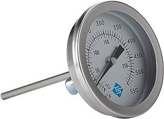 YUZI - Termometro da barbecue in acciaio INOX, da 2 pollici, per barbecue e affumicatore, per barbecue e barbecue, con ind...