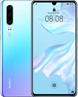 HUAWEI P30 Smartphone, Dual Sim Mobile Phone with 6.1-Inch OLED Display and Leica Triple Camera(40MP+16MP+8MP), 6GB+128GB, Breathing Crystal-Australian Version