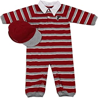 Outer Stuff Infant Toddlers Atlanta Falcons Football Jumpsuit Romper