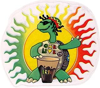 Rasta Turtle One Love - Reggae Window Sticker / Decal (5.5