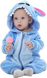 WSLCN Mono Unisex para bebé con Capucha y Pijama de Dibujos Animados