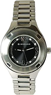 GIORDANO 2048-1 Ladies Silver Tone Bracelet Strap Watch