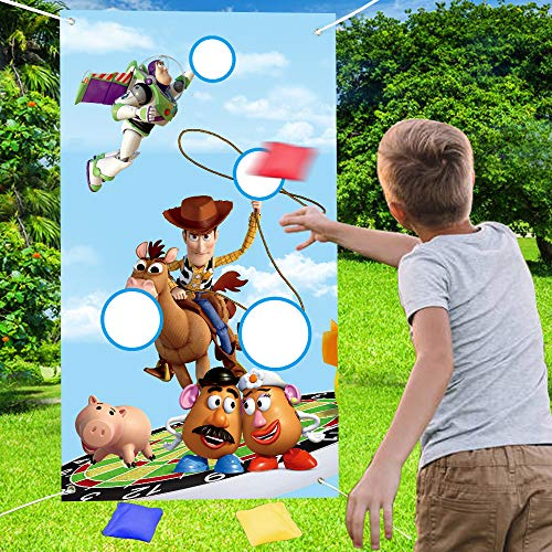 NIDEZON Toy Story Toss Games with 4…