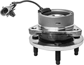 Front Wheel Hub and Bearing Assembly Left or Right Compatible Chevrolet Cobalt Pontiac G5 Pursuit Saturn Ion AUQDD 513204 [ 4 Lug 4-Wheel ABS ]