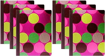 Studio C Carolina Pad, Hot Chocolate, 100 Sheets, 9.75 inch x 7.5 Inch (Pack of 6)