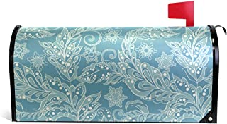 senya Magnetic Large Size Mailbox Cover Floral In Asian Style, Oversized