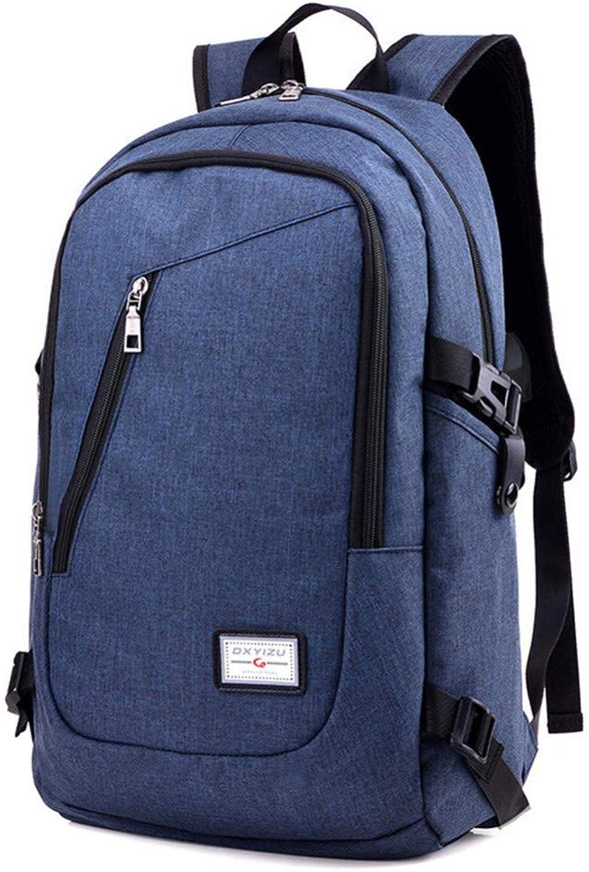 KYJ Damenr Cksack Business-Laptop-Rucksack Mit USB-Ladeanschluss Unisex-Freizeitreiserucksack Schultaschen