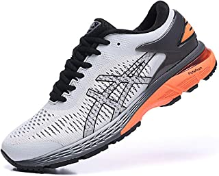 Men's ASICS Gel-Kayano 25 Running Shoes Mens Womens Breathable Sneakers Casual Shoes