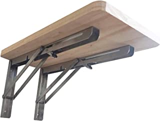 Table Pliante Murale, Pliante en Bois, Support Robuste, Stable Solide, Bureaux Muraux pour Petits Espaces, Tables Murales ...